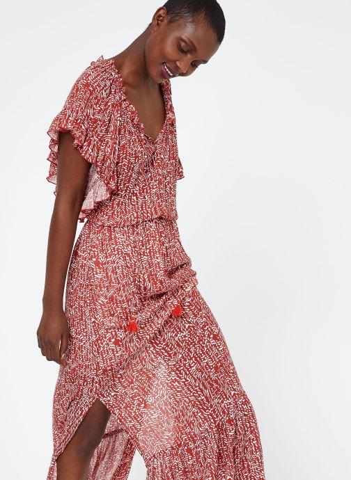 Vêtements Suncoo ROBE COREY Bordeaux vue détail/paire