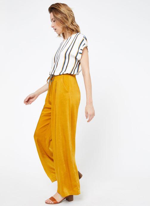 Vêtements Suncoo BLOUSE LOUANE Blanc vue bas / vue portée sac