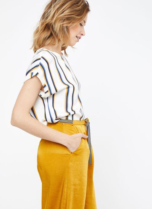 Vêtements Suncoo BLOUSE LOUANE Blanc vue droite