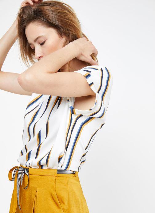 Vêtements Suncoo BLOUSE LOUANE Blanc vue détail/paire