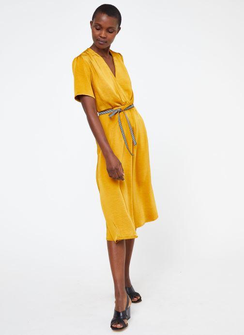Vêtements Suncoo ROBE CYPRES Jaune vue bas / vue portée sac