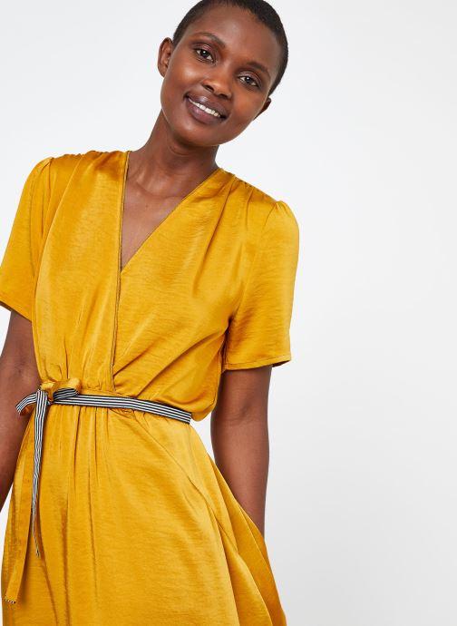 Vêtements Suncoo ROBE CYPRES Jaune vue face