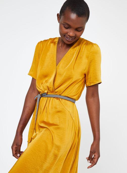 Vêtements Suncoo ROBE CYPRES Jaune vue droite