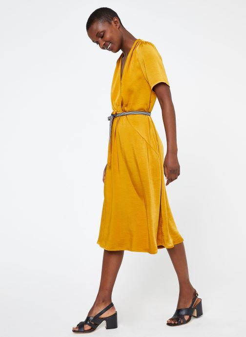 Vêtements Suncoo ROBE CYPRES Jaune vue détail/paire
