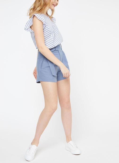 Vêtements Suncoo BLOUSE LEON Blanc vue bas / vue portée sac