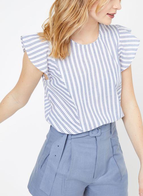 Vêtements Suncoo BLOUSE LEON Blanc vue détail/paire