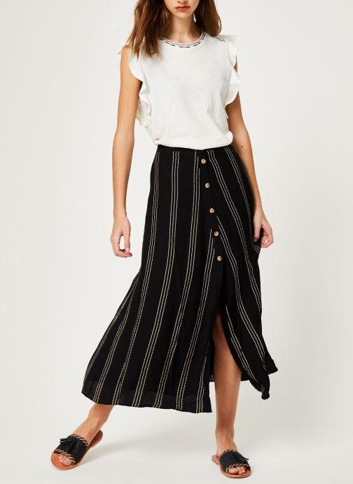 Vêtements Suncoo T-SHIRT MILO Blanc vue bas / vue portée sac