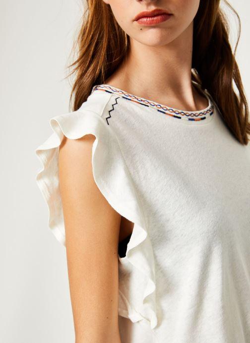 Vêtements Suncoo T-SHIRT MILO Blanc vue face