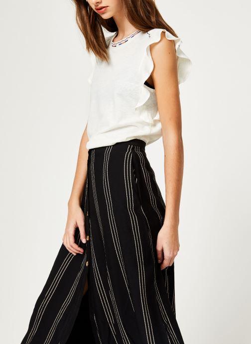 Vêtements Suncoo T-SHIRT MILO Blanc vue droite