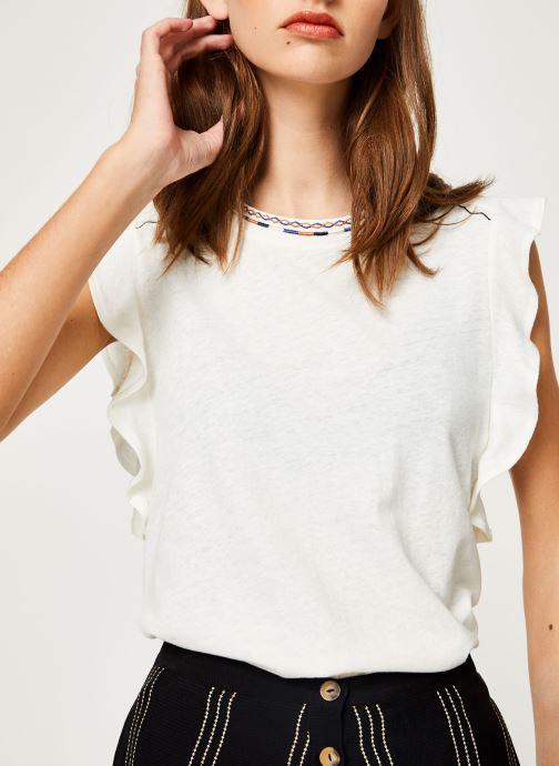 Vêtements Suncoo T-SHIRT MILO Blanc vue détail/paire