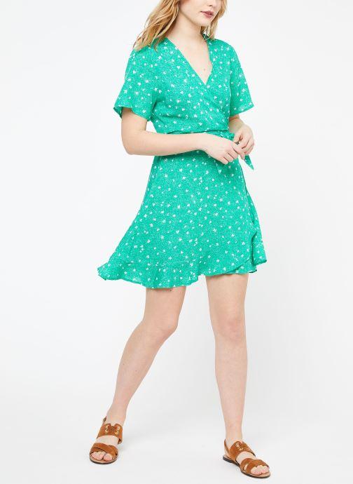 Vêtements Suncoo ROBE CASSY Vert vue bas / vue portée sac