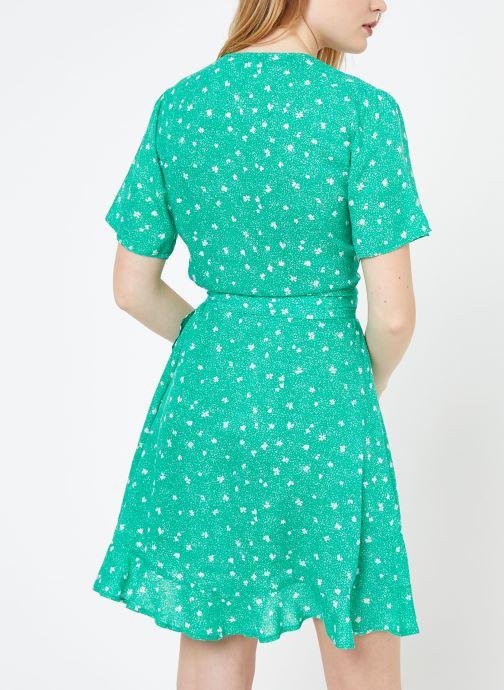 Vêtements Suncoo ROBE CASSY Vert vue portées chaussures