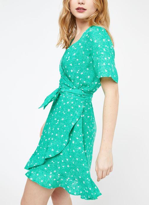 Vêtements Suncoo ROBE CASSY Vert vue droite