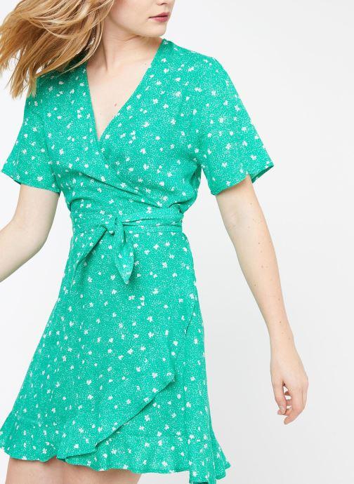 Vêtements Suncoo ROBE CASSY Vert vue détail/paire
