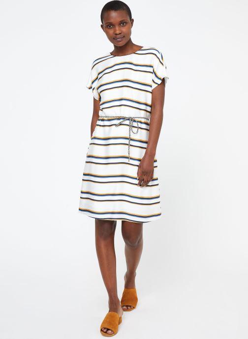 Vêtements Suncoo ROBE CLARCK Blanc vue bas / vue portée sac