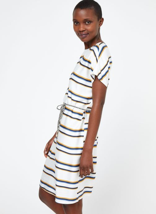 Vêtements Suncoo ROBE CLARCK Blanc vue droite