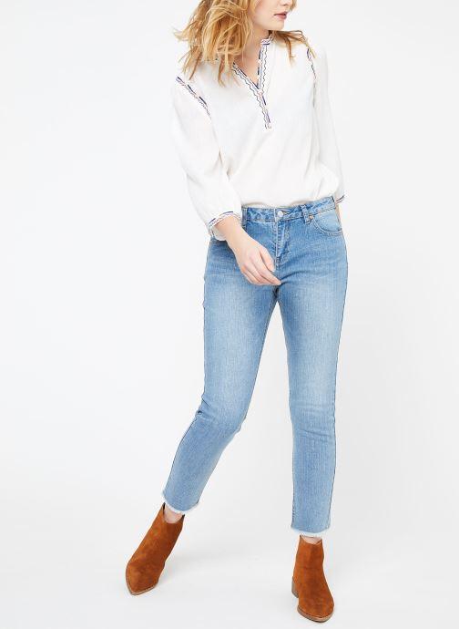 Vêtements Suncoo BLOUSE LYOBART Blanc vue bas / vue portée sac