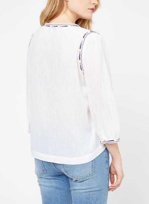 Vêtements Suncoo BLOUSE LYOBART Blanc vue portées chaussures