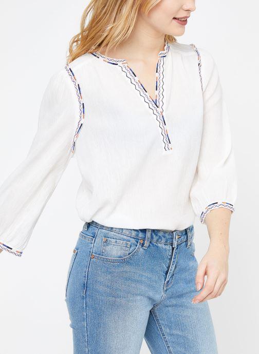 Vêtements Suncoo BLOUSE LYOBART Blanc vue droite