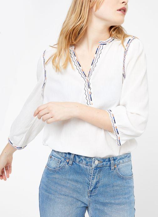 Vêtements Suncoo BLOUSE LYOBART Blanc vue détail/paire