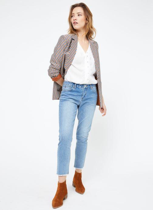 Vêtements Suncoo BLOUSE LIAN Blanc vue bas / vue portée sac