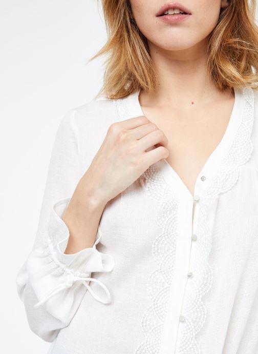 Vêtements Suncoo BLOUSE LIAN Blanc vue face