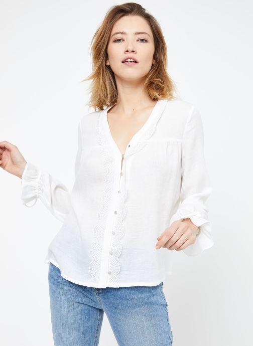 Vêtements Suncoo BLOUSE LIAN Blanc vue droite