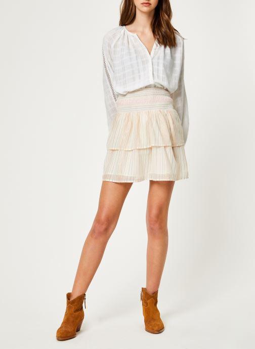 Vêtements Suncoo BLOUSE LISBONNE Blanc vue bas / vue portée sac