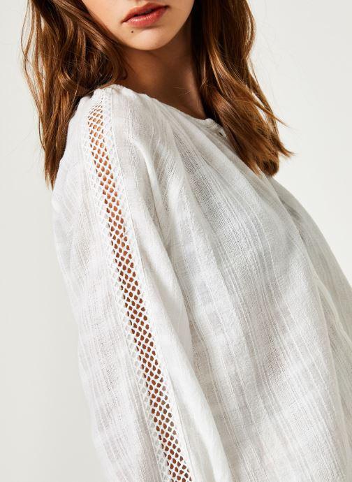 Vêtements Suncoo BLOUSE LISBONNE Blanc vue face