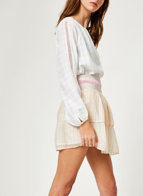 Vêtements Suncoo BLOUSE LISBONNE Blanc vue droite