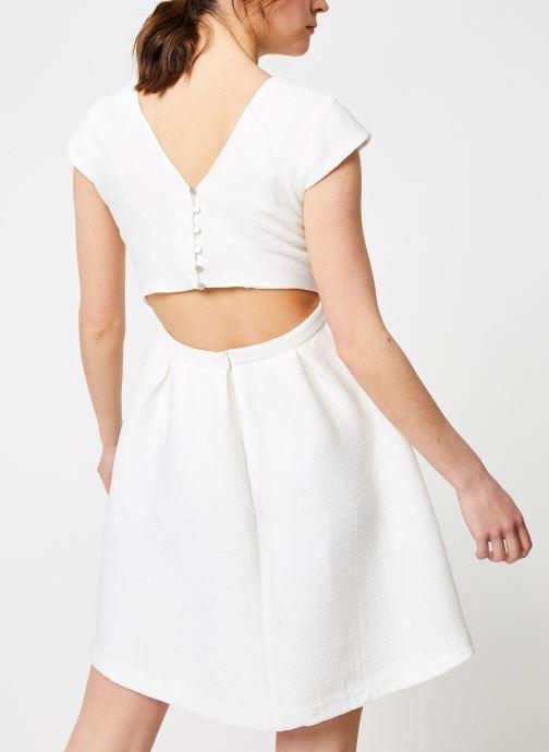 Vêtements Suncoo ROBE CLINT Blanc vue portées chaussures