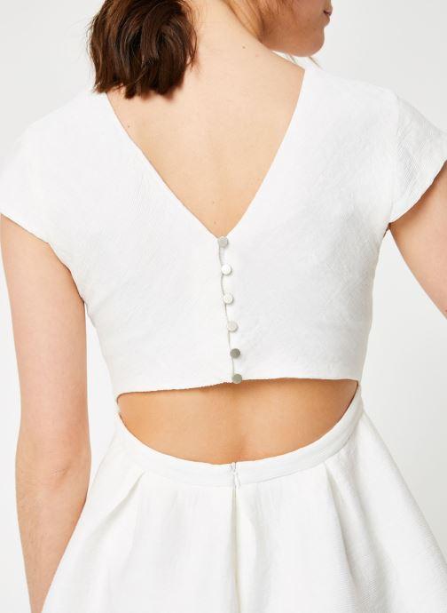 Vêtements Suncoo ROBE CLINT Blanc vue face