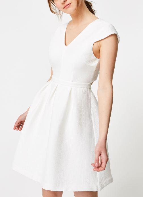 Vêtements Suncoo ROBE CLINT Blanc vue droite