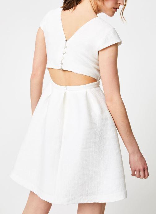 Vêtements Suncoo ROBE CLINT Blanc vue détail/paire