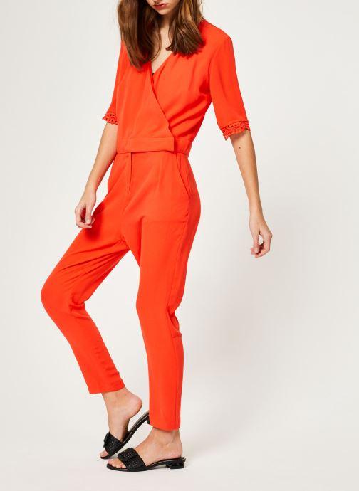 Vêtements Suncoo COMBI-PANTALON TARA Rouge vue bas / vue portée sac