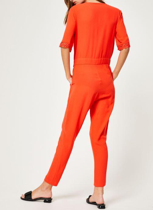 Vêtements Suncoo COMBI-PANTALON TARA Rouge vue portées chaussures
