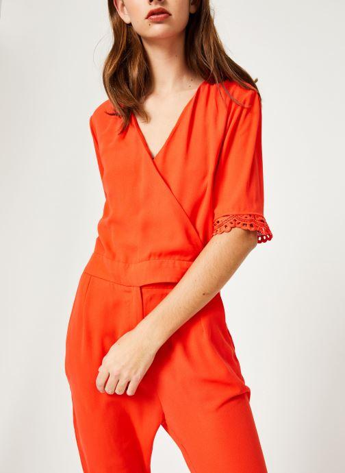 Vêtements Suncoo COMBI-PANTALON TARA Rouge vue droite