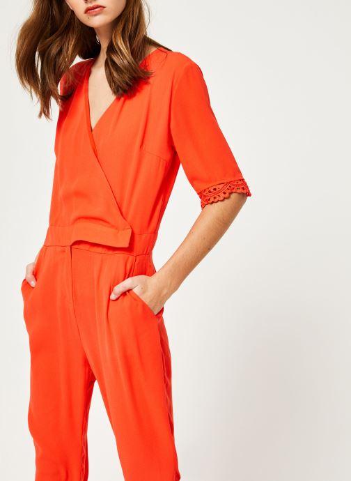 Vêtements Suncoo COMBI-PANTALON TARA Rouge vue détail/paire