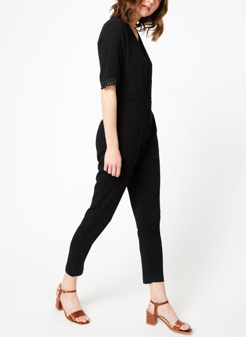 Vêtements Suncoo COMBI-PANTALON TARA Noir vue bas / vue portée sac