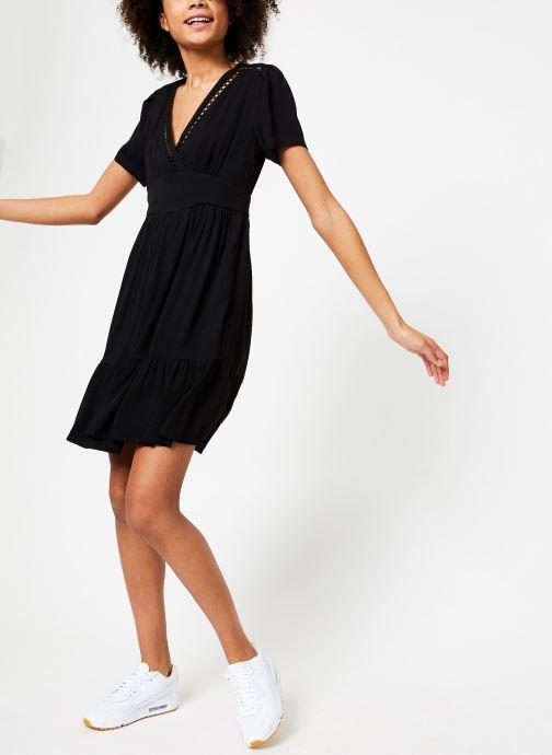 Vêtements Suncoo ROBE CHRISTY Noir vue bas / vue portée sac