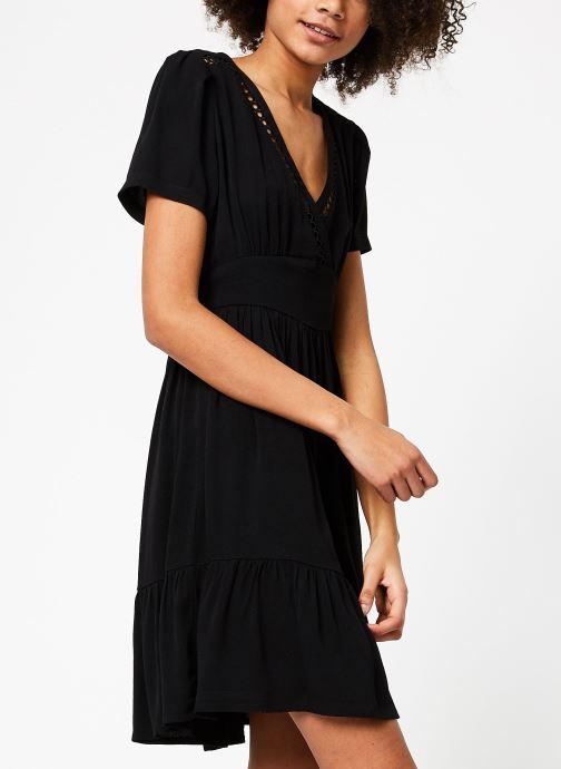 Vêtements Suncoo ROBE CHRISTY Noir vue droite