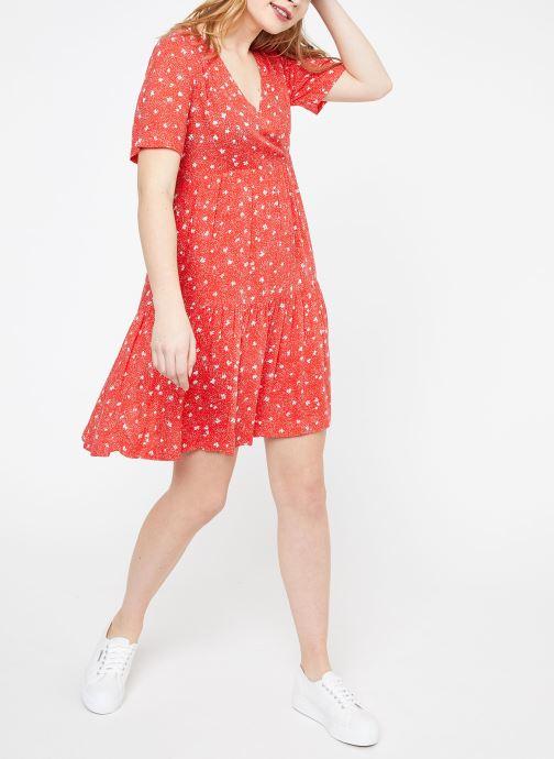 Vêtements Suncoo ROBE CASTELLA Rouge vue bas / vue portée sac