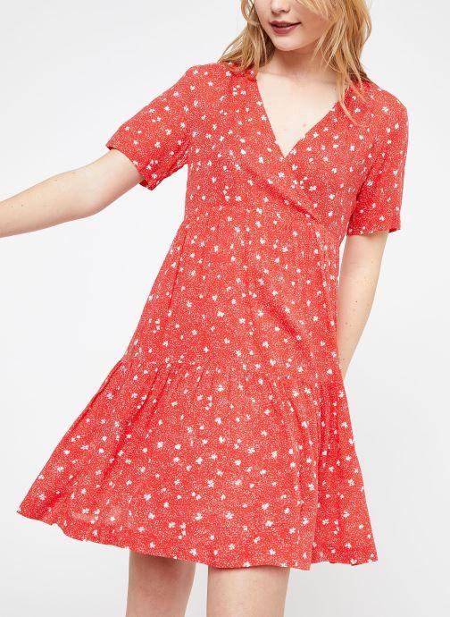 Vêtements Suncoo ROBE CASTELLA Rouge vue détail/paire