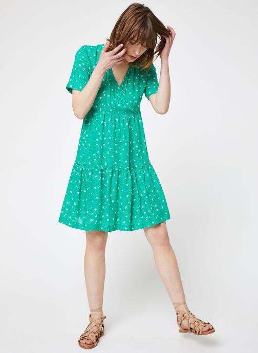 Vêtements Suncoo ROBE CASTELLA Vert vue bas / vue portée sac