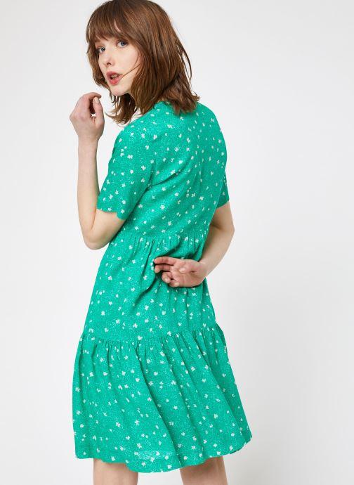 Vêtements Suncoo ROBE CASTELLA Vert vue portées chaussures