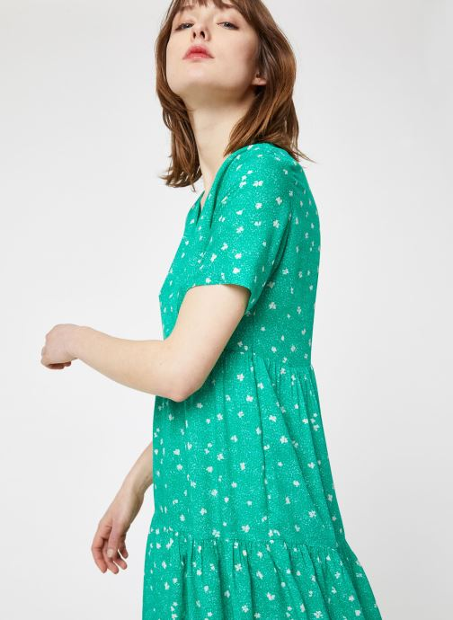 Vêtements Suncoo ROBE CASTELLA Vert vue droite
