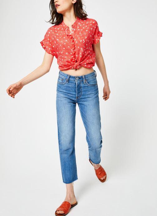 Vêtements Suncoo BLOUSE LIVIA Rouge vue bas / vue portée sac