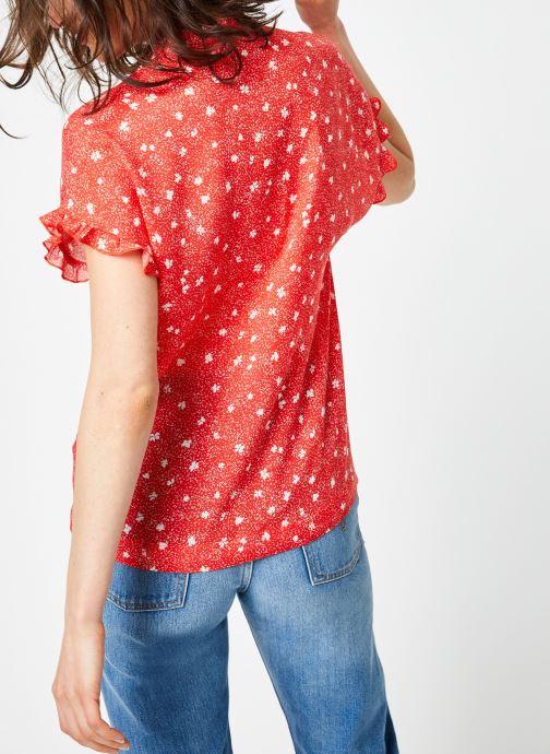 Ropa Suncoo BLOUSE LIVIA Rojo vista del modelo
