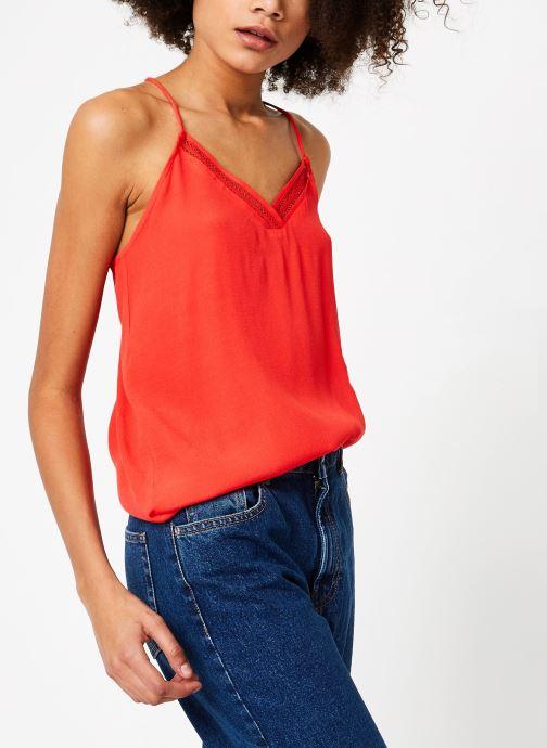 Vêtements Suncoo TOP LASCO Rouge vue détail/paire