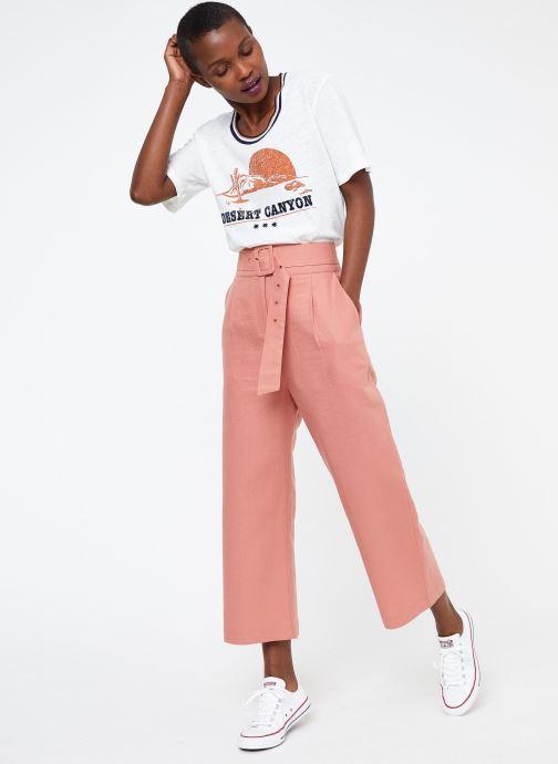 Vêtements Suncoo PANTALON JANKA Rose vue bas / vue portée sac